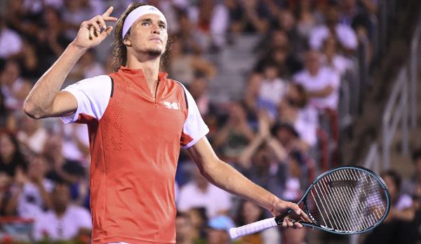 Tennis: Alexander Zverev erreicht Achtelfinale in Montreal