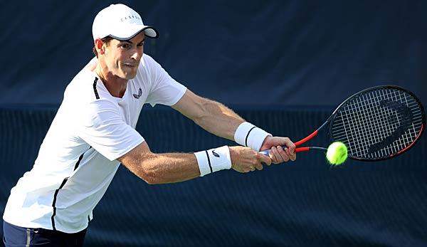 Comeback in Cincinnati: Andy Murray will wieder Einzel spielen