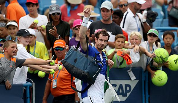 Andy Murray verliert bei Einzel-Comeback in Cincinnati gegen Richard Gasquet