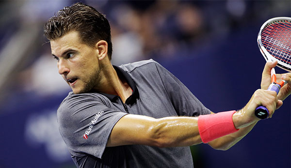 Dominic Thiem hat bei den US Open Losglück.