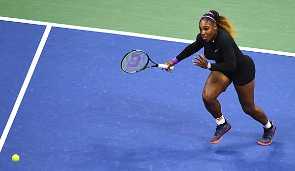 Serena Williams will den siebten US-Open-Titel