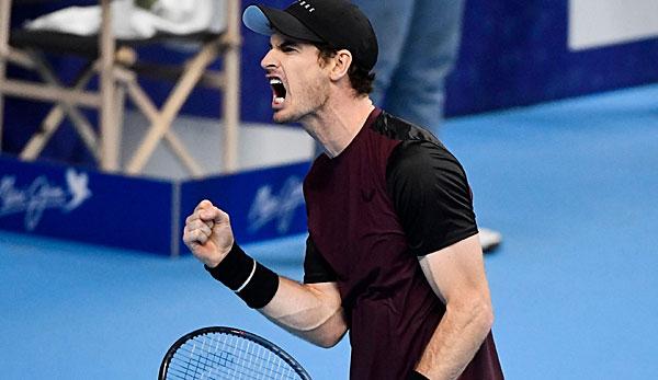Tennis: Andy Murray gewinnt ersten ATP-Titel seit 2017