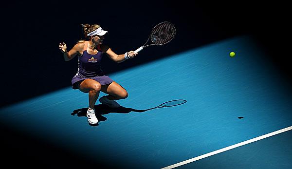 Australian Open: Angelique Kerber im Eisbad - endlich wieder zweite Woche