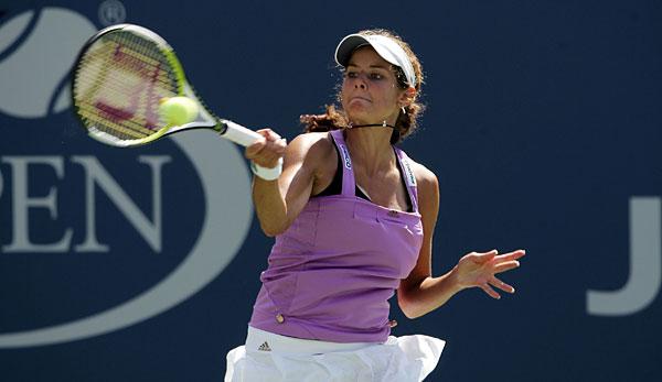 2008 stand Julia Görges bei den US Open zum ersten Mal im Hauptfeld eines Grand-Slam-Events.