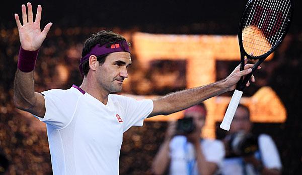 """Australian Open - Glückspilz Roger Federer wie Houdini: """"Ich sollte schon Ski fahren sein"""""""
