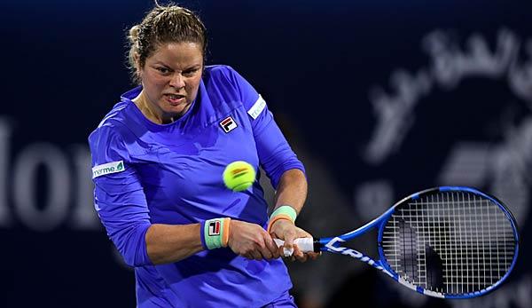 Tennis: Starke Clijsters verliert Comeback-Match nach hartem Kampf