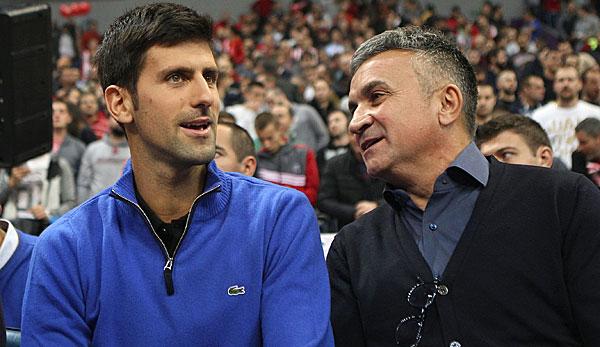 Tennis - Djokovic-Vater ätzt gegen Fans und Thiem: Irgendein Österreicher