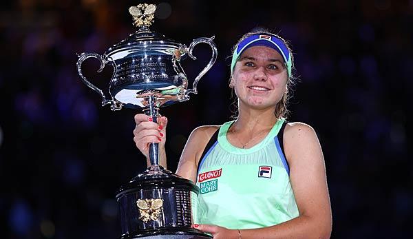 Australian Open: Sofia Kenin gewinnt ersten Grand-Slam-Titel