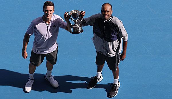 Australian Open: Rajeev Ram und Joe Salisbury holen Doppel-Titel
