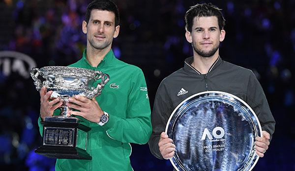 Nervenschlacht! Dominic Thiem unterliegt Novak Djokovic im Australian-Open-Finale