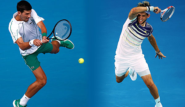 Australian Open: Um wie viel Uhr beginnt das Finale mit Dominic Thiem und Novak Djokovic?
