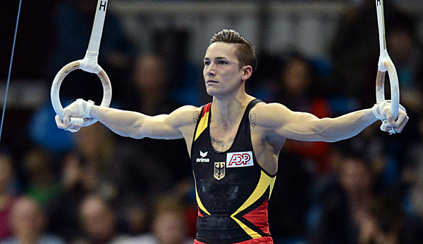 Marcel Nguyen holte bei Olympia 2012 die Silber-Medaille