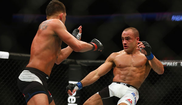 Eddie Alvarez kämpft in New York gegen Conor McGregor
