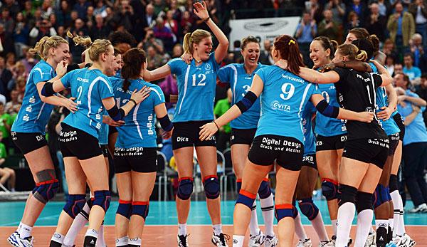 Volleyball Playoffs Damen