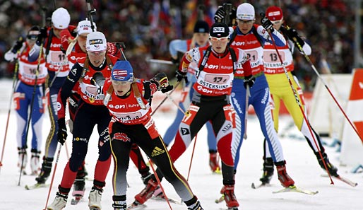 Wintersport, Biathlon, WM, Ruhpolding