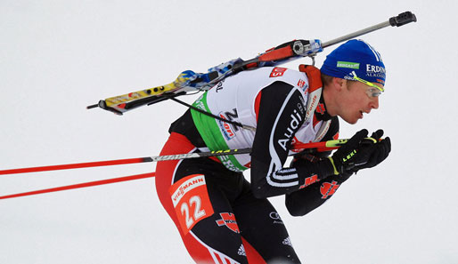 Andreas Birnbacher muss nach Ruhpolding wohl auch in Antholz passen