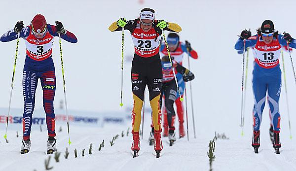 Langlauf-Staffel von Norwegen nicht zu schlagen