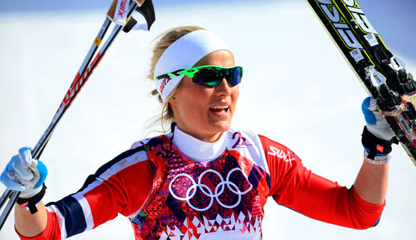 "Therese Johaug ist die ""Queen of the Mördarbakken"""