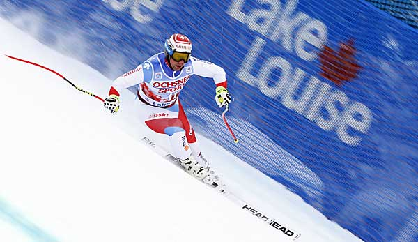 Beat Feuz gewann in Lake Louise