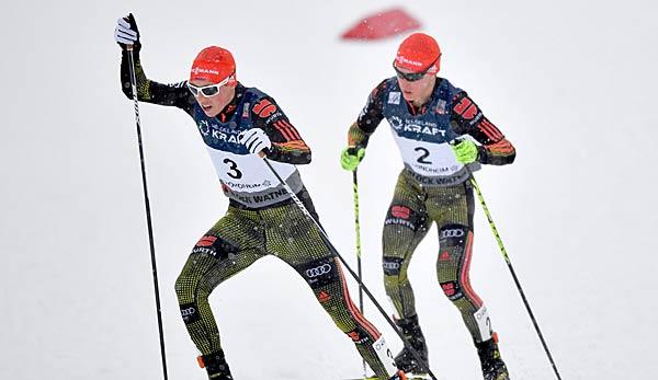 Herrenloser Ski auf der Schanze: Kombinierer Johannes Rydzek entgeht Horror-Sturz
