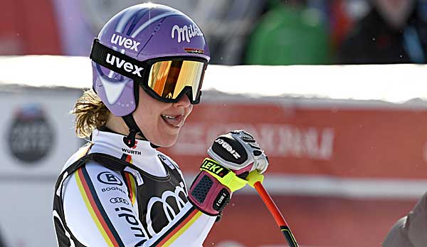 Ski-Weltcup: Rebensburg gewinnt Riesenslalom-Kugel kampflos