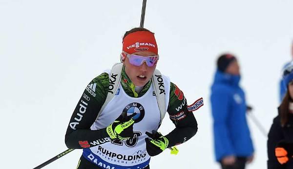 Biathlon Laura Dahlmeier Wird Bei Sprint In Antholz Vierte