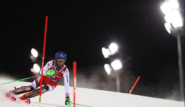 Herren-Slalom in Madonna: Daniel Yule führt vor Henrik Kristoffersen, Österreicher abgeschlagen