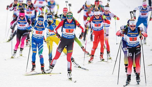 Biathlon Frauen Heute