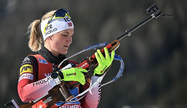 Biathlon-WM: Norwegens Damen holen Staffel-Gold vor Deutschland und Ukraine