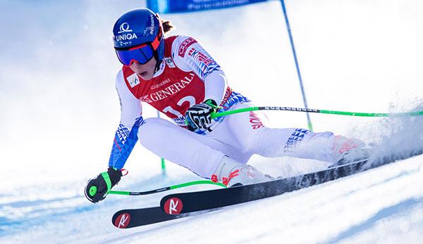 Ski-Weltcup JETZT live: Petra Vlhova führt im Riesenslalom von Kranjska Gora - TV-Übertragung, LIVETICKER Zwischenstand