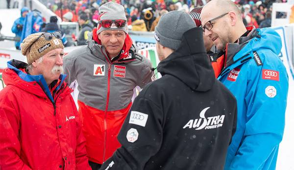 Mike Pircher im Team Hirscher.