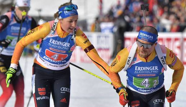 Single Mixed Staffel Biathlon Heute