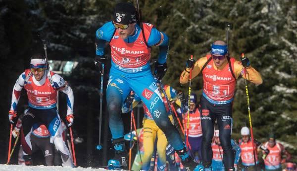 Biathlon Verfolgung Damen Heute