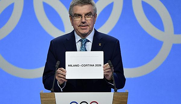 Olympia 2026: Mailand/Cortina d'Ampezzo richten Winterspiele 2026 aus