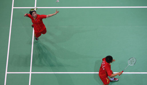 Olympia, Peking, Badminton, China, Du Jing, Yu Yang