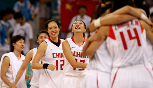 Olympia, Peking, Basketball, China