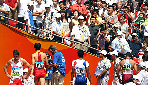 Olympia, Peking, Leichtathletik, China, Liu Xiang