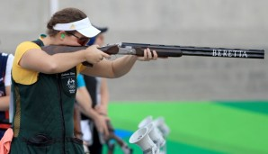 Catherine Skinner holte Gold im Trap