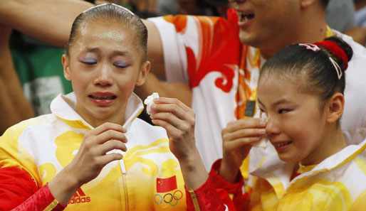 China, Gold, Olympia, Turnen