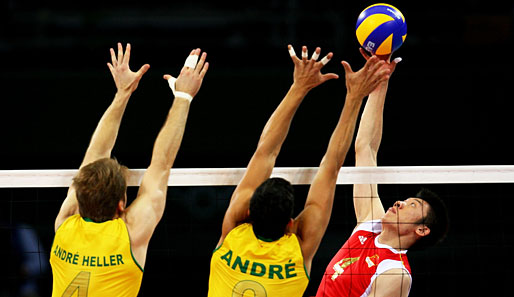 Olympia, Peking, Volleyball, Brasilien, China