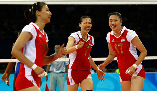 China, Volleyball