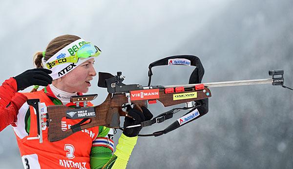 verfolgung biathlon damen heute
