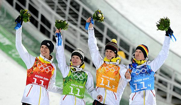 ergebnisse skispringen olympia