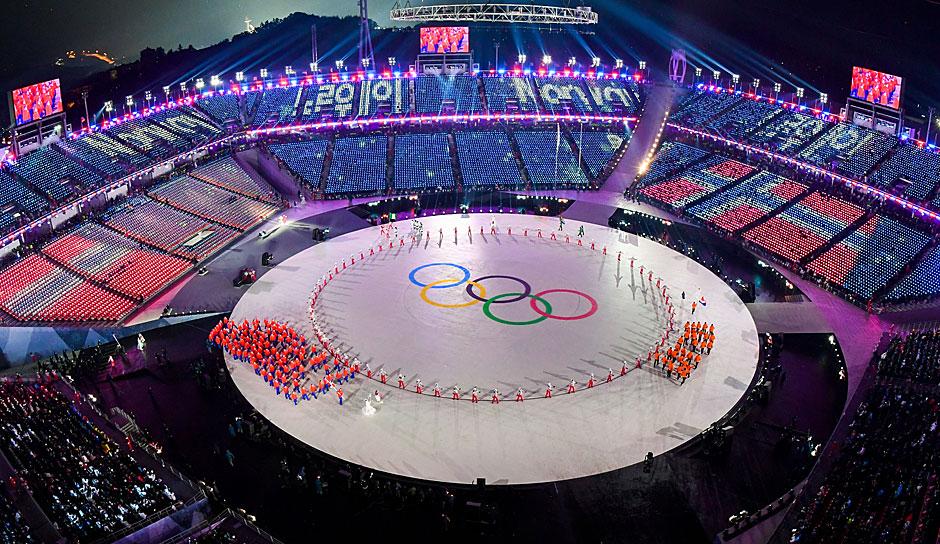Eröffnungsfeier Olympia