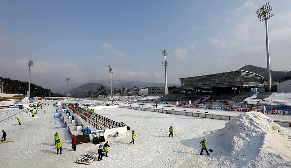 Alpensia Biathlon Center
