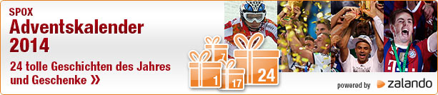 SPOX Adventskalender 2014 powered by zalando