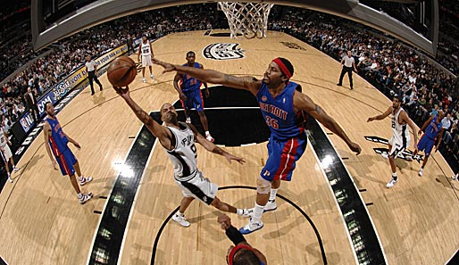 NBA, San Antonio Spurs, Detroit Pistons, Rasheed Wallace