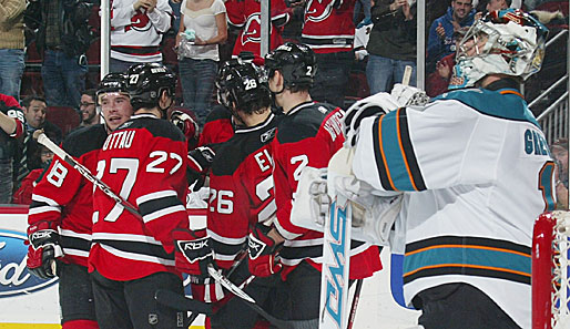 eishockey, nhl, new jersey, devils, san jose, sharks
