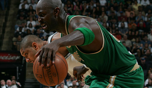 US Sport, NBA, Boston, Garnett