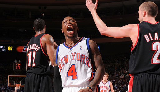 Robinson, New York, Knicks